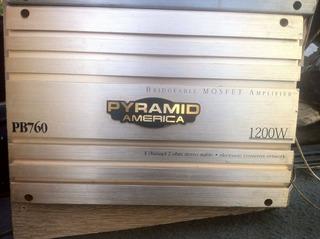 Planta America Pyramid 1200 Watts 4 Canales