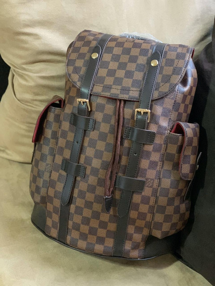 Mochila Backpack Christopher Lv Gucci Neverfull Louis Vuitto