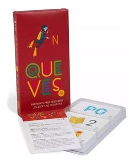 Juego De Cartas Que Ves Jr Original Yetem 80102 Edu Full