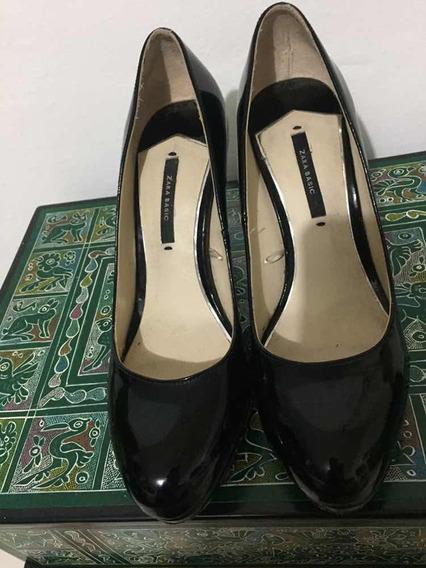 Zapatillas Negras Zara 37 O 4