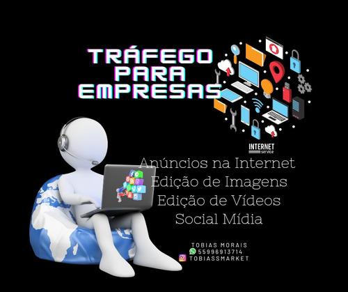 Tráfego Pago, Social Mídia, Edições, Criação De Logotipo Etc