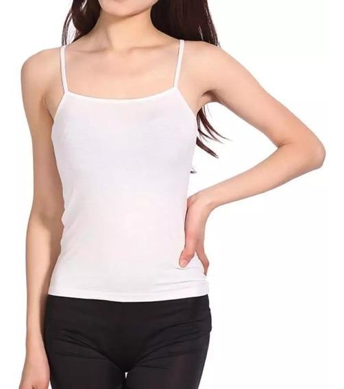 12 Camisetas Tirantes Ajustables Mayoreo Jera Ropa Moda