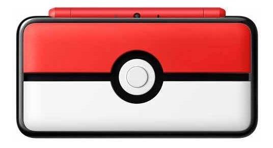 Nintendo 2ds Xl Poke Ball Con Sd Y 3 Videojuegos Digital