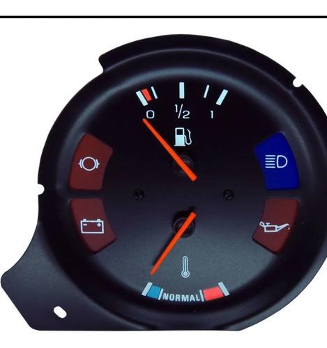 Imagem 1 de 3 de Marcador Indicador Combustível E Temperatura Corcel  Belina