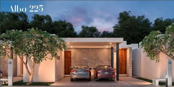 Hermosa Residencia De 3 Recámaras En Venta En Alba Residencial, Mod. 225