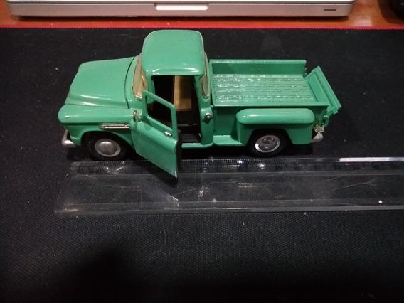 Miniatura Caminhonete Pickup Chevy Stepside 55 Coleção
