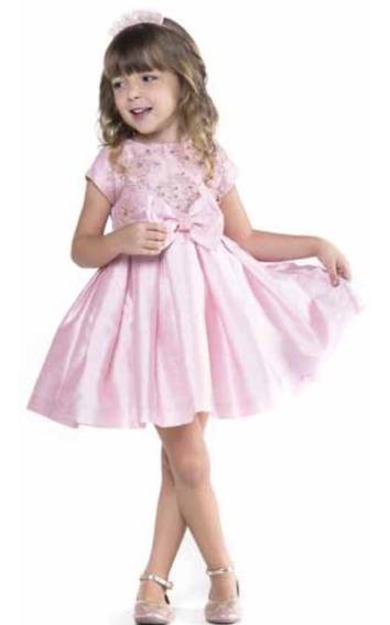 Vestido Festa Petit Cherie - Rosa 11.09.31054