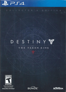 Destiny The Taken King Collectors Ps4