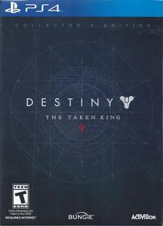Destiny The Taken King Collectors Edition Ps4 Nvo Y Agotado