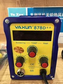 Estação De Solda Retrabalho Ar Quente Yaxun 878d++ 220v