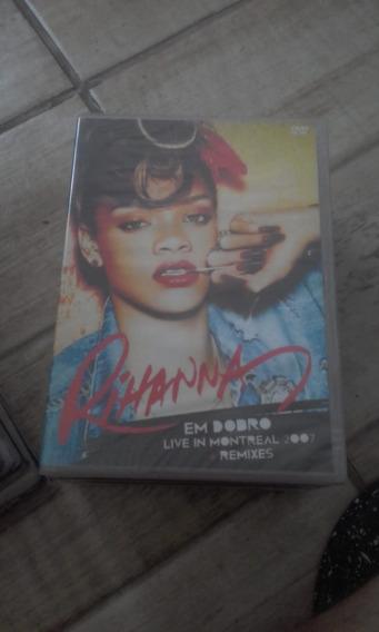 Dvd Rihanna - Em Dobro (live In Montreal/remixes) Lacrado