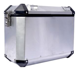 Par De Maletas Laterales Rola 42 Lts. Aluminio 2mm, Uso Rudo
