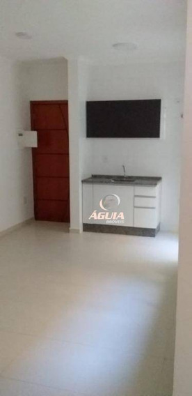 Apartamento Com 2 Dormitórios À Venda, 40 M² Por R$ 240.000,00 - Vila Curuçá - Santo André/sp - Ap2138
