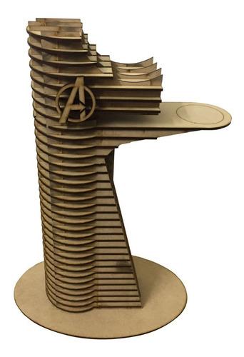 Maqueta Torre  Avengers Mdf Fibrofacil Torre Vengadores