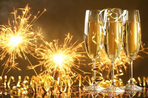 Painel Festa Em Lona Feliz Ano Novo