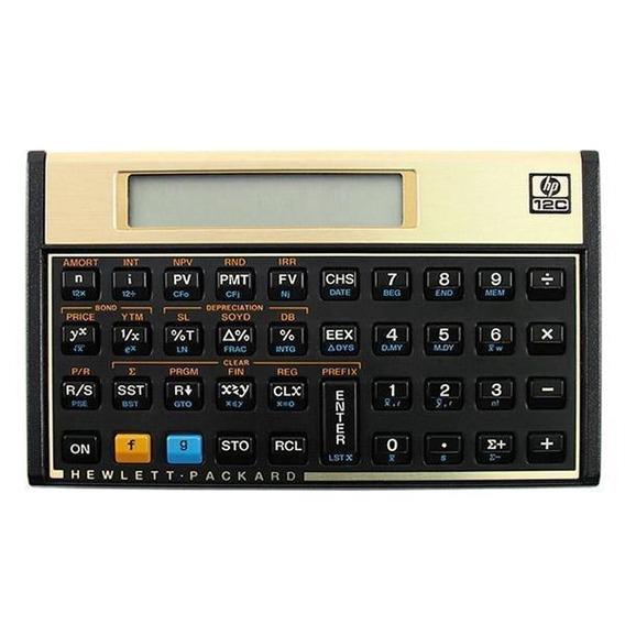 Calculadora Financeira Hp 12c Com 120 Funções - Frete Gratis