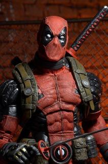 --- Deadpool 1/4 Escala Neca De 18 Pulgadas ---