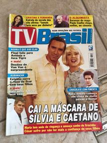 Revista Tv Brasil 190 Cristina Fagundes Paulo Coelho
