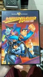 Dvd Filme - Não Consta - Batman E Superman: Os Melhores D...