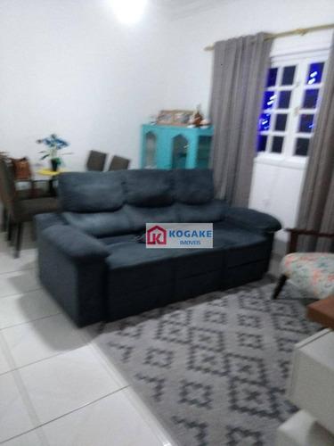 Imagem 1 de 10 de Casa À Venda, 129 M² Por R$ 375.000,00 - Residencial Bosque Dos Ipês - São José Dos Campos/sp - Ca2519