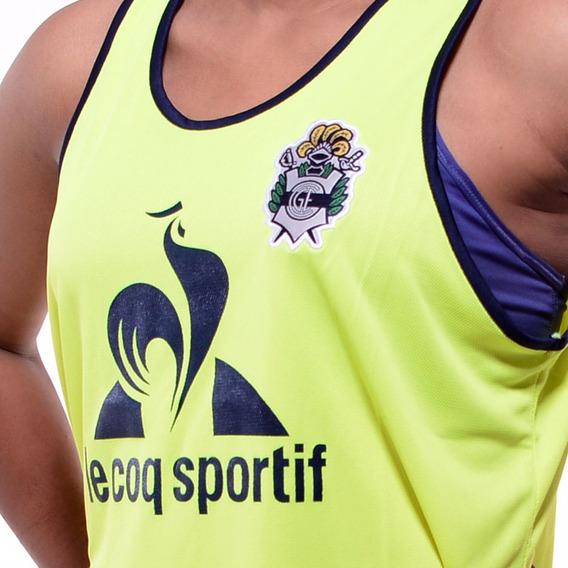 Camiseta Gimnasia La Plata (gelp) - Le Coq Sportif 2017 Amarilla Musculosa Pechera - Nueva - En La Plata