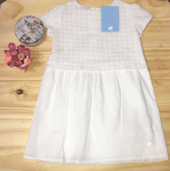 Vestido T 24 Meses Broderie Babycottons Nuevo