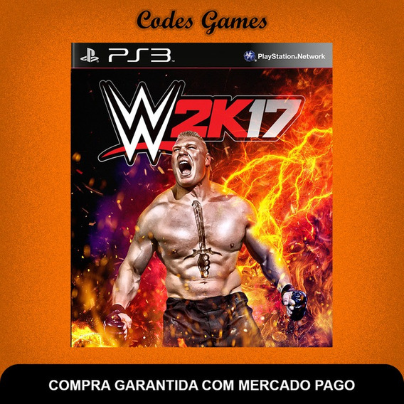 Wwe 2k17 - Ps3 - Pronta Entrega