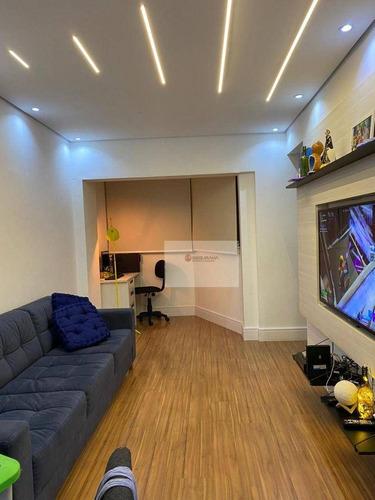 Imagem 1 de 16 de Apartamento Com 2 Dormitórios À Venda, 65 M² Por R$ 365.000,00 - Anália Franco - São Paulo/sp - Ap0345