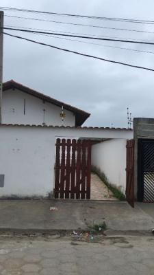 Casa No Jardim Magalhães, Em Itanhaém,ref. 4614 M H
