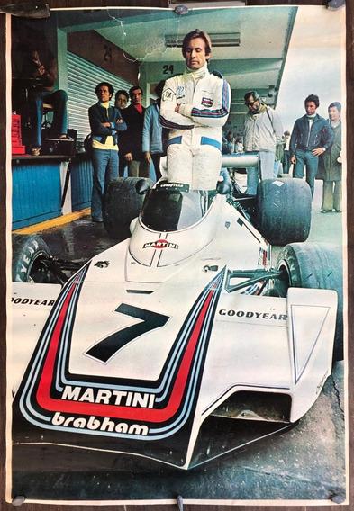 Afiche De Calle De Carlos Reutemann