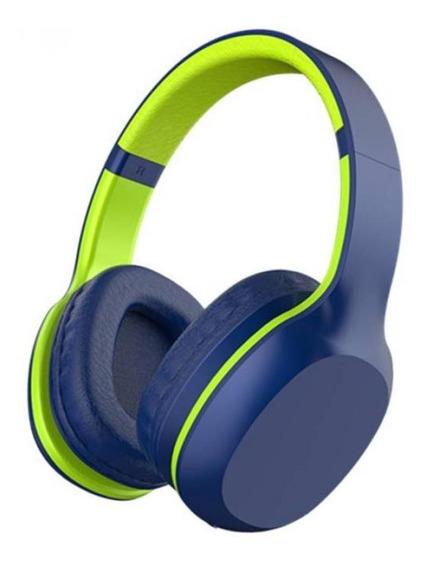 Fone De Ouvido Xtrax Groove Bluetooth - Azul E Verde