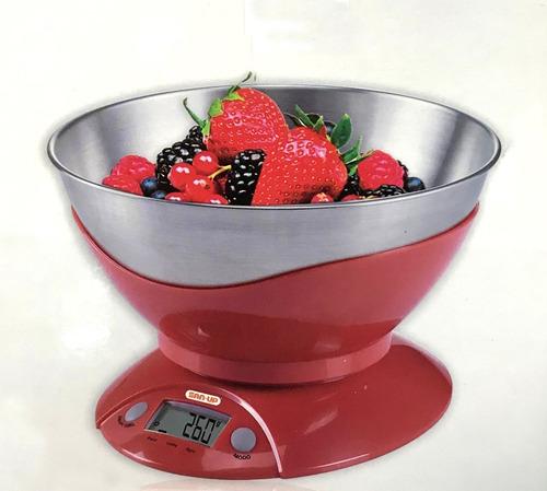 Balanza De Cocina San-up Digital 3555 Bowl Acero Inox (5389)