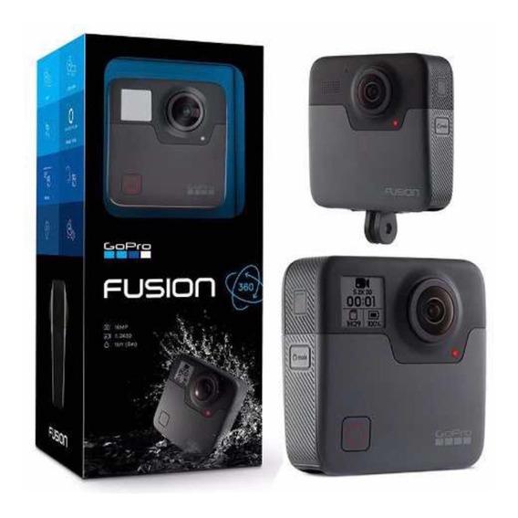 Gopro Fusion 360 Vr / Video 5.2k / Foto 18 Mp Nova Lacrada Comprada Best Buy Eua Pronta Entrega Brasil 12x Sem Juros