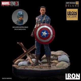 Iron Studios Captain America First Avengerexclusive