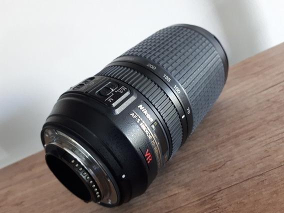 Lente Nikkor Af-s Vr 70-300mm F/ 4.5-5.6 G If Ed