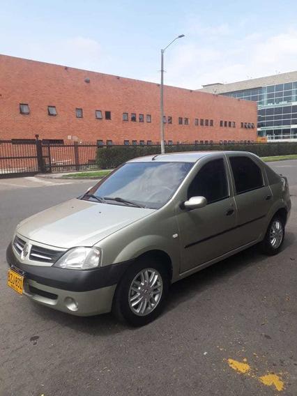 Renault Logan 1400 Cc 2007 Gris Perla 4 Puertas
