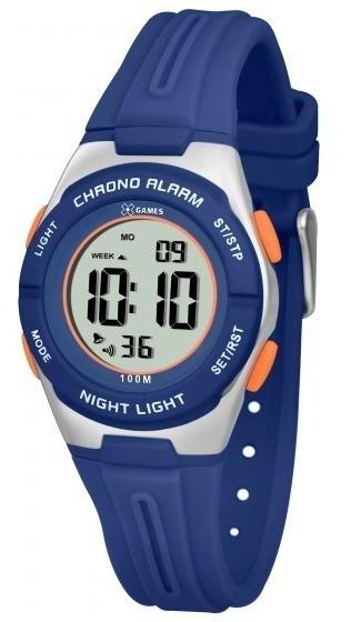Relógio Xgames Xkppd048 Bxdx Unissex Azul - Refinado