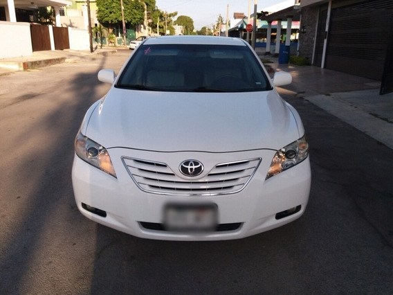 Toyota Camry 2.5 Xle L4 Aa Ee Qc Piel At Blanco