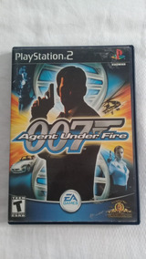 007 Agent Under Fire Ps2 Original Completo