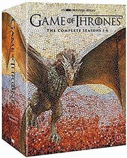 Game Of Thrones Temporadas Completas 1 - 6 (blu Ray)