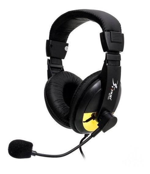 Fone De Ouvido Headset Com Microfone Sortido - Knup