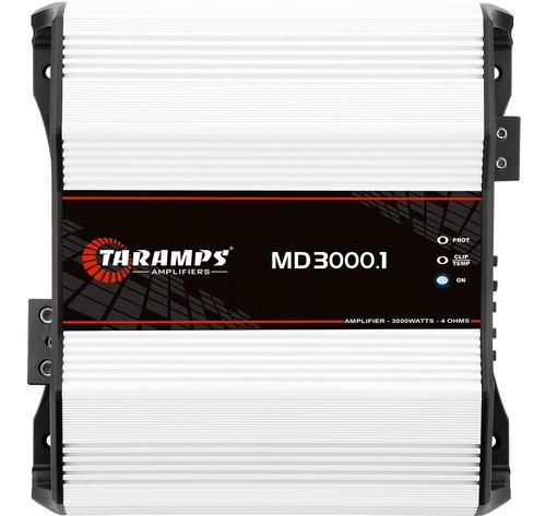 Modulo Taramps Md 3000.1 4 Ohm 3000w Amplificador Automotivo