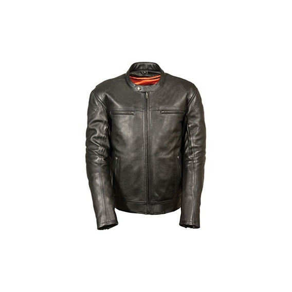 Milwaukee Leather Mens Actualizado Vented Scooter Jacket (ne