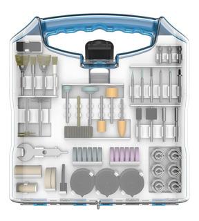 Set Kit Accesorio Mini Torno Gamma Juego 180 Piezas Maletin