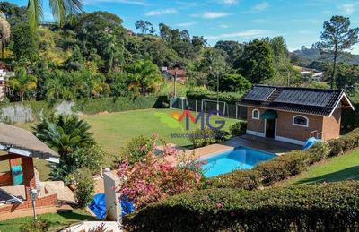 Chácara Residencial À Venda, Jardim Estância Brasil, Atibaia. - Ch0157