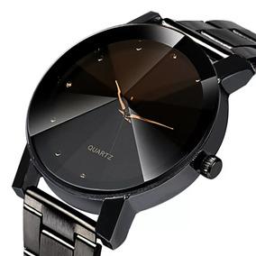 Relógio De Quartzo Do Aço Inoxidável Das Mulheres Dos Homens