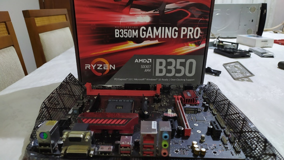 Placa Mãe Msi B350m Gaming Pro Am4 Matx Ddr4 B350