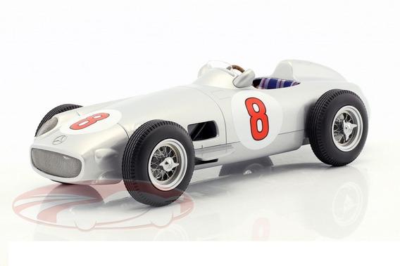 Mercedes Benz W196 # 8 Fangio Winner Gp Alemania 1955 1/18