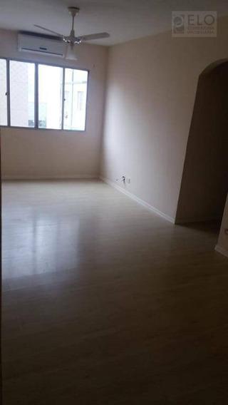 Apartamento Com 2 Dormitórios Para Alugar, 80 M² Por R$ 1/mês - Aparecida - Santos/sp - Ap2128