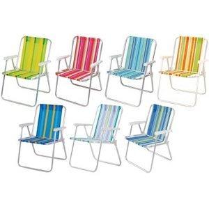 Cadeira De Praia Mor Kit Com 2